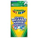 8 тонких смывающихся фломастеров  на водной основе классических цветов, Crayola (176575), 58-8330