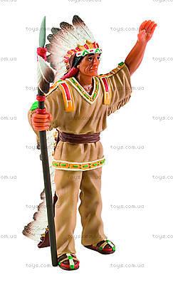 Игровая фигурка «Индеец-вождь», 80677