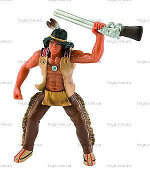 Игровая фигурка «Индеец» с ружьем, 80678