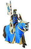 Игровая фигурка «Рыцарь на коне» синий, 80892, купить