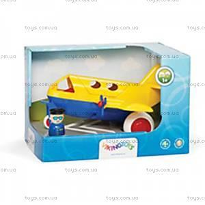 Самолет детский с человечками, 81270