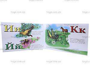Азбука с плакатом «Буковки в лесу», С192006Р, фото