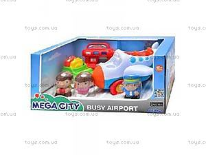 Аэропорт с фигурками в коробке,