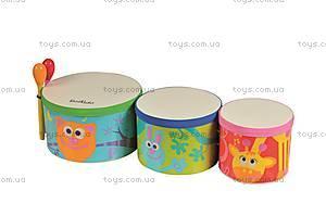 Африканские барабаны «Бонго», 5024, фото