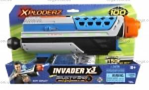 Акционный набор Xploderz X3 Invader + гидропульки, 200010