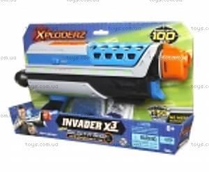 Акционный набор Xploderz X3 Invader + гидропульки, 200010, купить