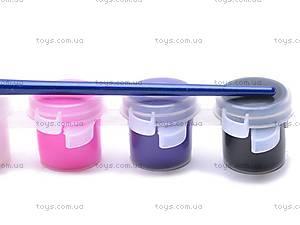 Акриловые краски, 6 цветов, JX-661, фото