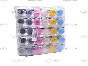 Акриловые краски, 6 цветов, JX-661, отзывы