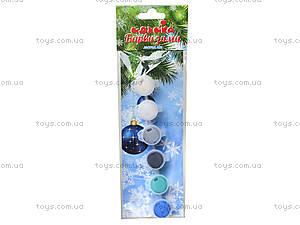 Акриловые краски «Краски зимы», 6 цветов, 98105, купить