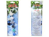 Акриловые краски «Краски зимы», 6 цветов, 98105, отзывы