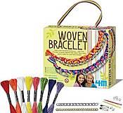 Аксессуары для девочек «Тканые браслеты», 00-04641, отзывы