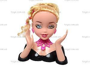 Манекен для причесок со звуковыми эффектами, 8898-3, toys.com.ua