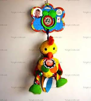 Активная игрушка-подвеска «Забавный петушок», 104GD
