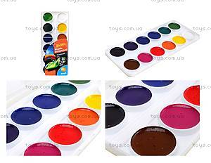 Акварельные краски Hot Wheels, 12 цветов, HW15-061K