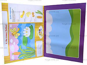 Набор для аппликаций из пластилина «Яркие пейзажи», 5336, купить