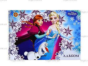 Альбом для рисования Frozen, 20 листов, Ц558003У, отзывы