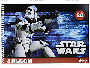 Альбом для рисования Star Wars, 20 листов, Ц557006У, фото