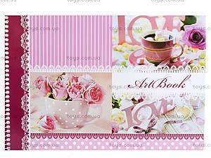 Альбом для рисования «Цветочная нежность», 40 листов, Ц260034У, цена