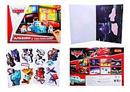 Альбом с наклейками «Тачки», 4510-11, фото
