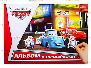 Альбом с наклейками «Тачки», 4510-11, игрушки