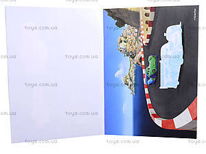 Альбом с наклейками для детей «Тачки», 4510-12, цена