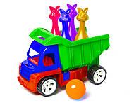 Алексбамс с кеглями зайцы + 1 шар (зеленый), 089, купить