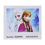 """Алмазная мозаика 30*20 """"Холодное сердце"""", JS20450, игрушки"""