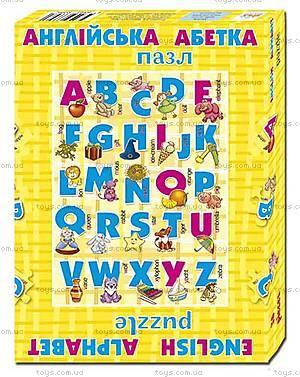 Английская азбука «Пазлы», 36 элементов, 74141