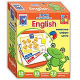 Английский язык на магнитах «Животные», VT1502-10, купить