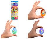 Антистресс-лизун Mr. Boo в яйце, 40 г ассорти, A80010, детские игрушки