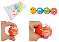 Антистресс смешные мордочки, M02605, детские игрушки