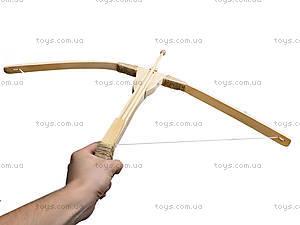 Арбалет деревянный игрушечный, 171907у, цена