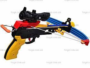 Арбалет и стрелы на присосках, M0010, фото