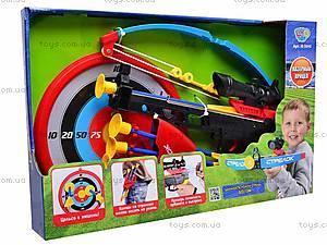 Арбалет и стрелы на присосках, M0010, игрушки