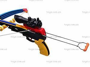 Арбалет и стрелы на присосках, M0010, детские игрушки