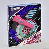 Арбалет с мишенью «Archery» сине-розовый, 9824, магазин игрушек