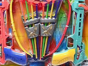 Арбалет со стрелами, для детей, 395B, фото