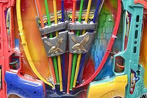 Арбалет со стрелами, для детей, 395B, отзывы