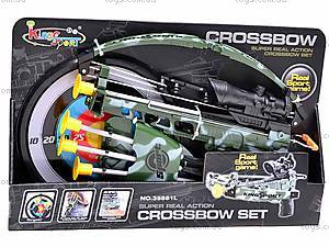 Арбалет со стрелами и целью, 35881L, фото