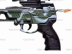Арбалет со стрелами и целью, 35881L, детские игрушки