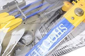 Арбалет со стрелами и мишенью, 20122E, цена