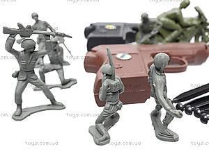 Армейский набор с оружием, 2014C, игрушки