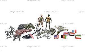 Армейский набор с оружием, 2014C, toys.com.ua