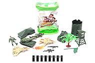 Армейский набор игрушек в рюкзаке, B-4