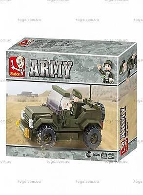 Конструктор «Армия, Джип», M38-B0296