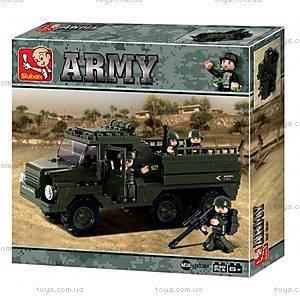 Конструктор «Армия, Грузовик», M38-B0301
