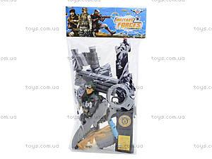 Детский игровой набор для мальчика «Армия», 777-2, фото