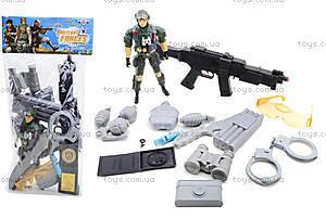 Детский игровой набор для мальчика «Армия», 777-2
