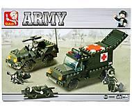 Конструктор «Армия, Скорая помощь», M38-B6000, отзывы