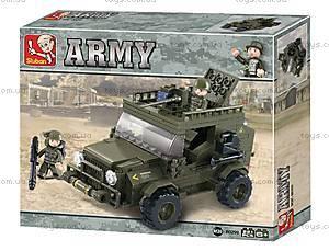 Конструктор «Армия, Внедорожник», M38-B0299